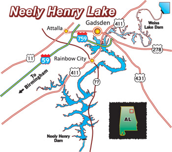 lake neely henry map Wbttournamentpage lake neely henry map